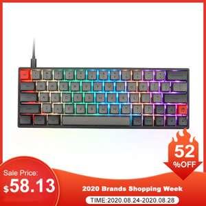 Механическая Bluetooth RGB клавиатура