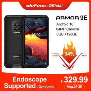 Смартфон Ulefone Power 9E Android 10 Helio P90 8 ГБ + 128 ГБ 2,4G + 5G WI-FI 6600 mAh 64MP