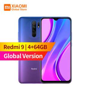 Смартфон Xiaomi Redmi 9, 4+64GB и другие модели: Redmi Note 9, 4+128GB, Redmi 9A, 2+32GB