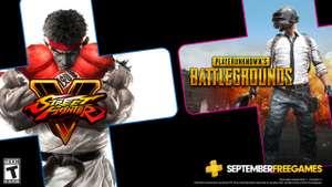 PlayStation Plus - бесплатные игры сентября по подписке: Street Fighter V и PUBG