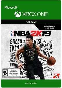 [XBOX ONE] NBA 2K19