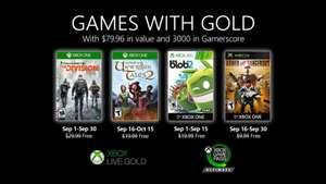 Бесплатные игры сентября для подписчиков Xbox Live Gold / Game Pass Ultimate