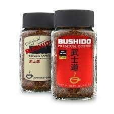 [Иваново] растворимый кофе Bushido 100гр