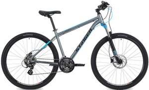 "[не везде] Велосипед STINGER GRAPHITE PRO 27,5"" (2019), рама 18"", гидравлические тормоза"