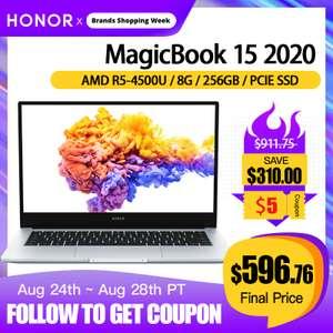 Huawei magicbook 15 8/256 ryzen 5 4500u