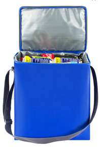 "Сумка-холодильник ""EASY"", цвет: синий, 18 л (цена по акции 1+1)"