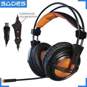 Игровые наушники Sades A6