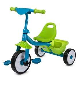 Детский велосипед Kreiss сине-зеленый