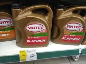 SINTEC Platinum SAE 5W40 API SN/CF (4 литра)