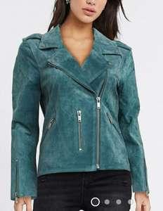 Женская замшевая куртка Selected (размер 40-46)