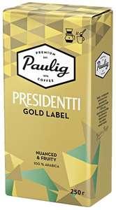 Кофе Paulig Presidentti (зерно/молотый) 250гр.