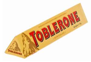 [Москва] Шоколад Toblerone Молочный с медово-миндальной нугой