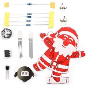 Украшение музыкальный Санта Клаус за $2.29