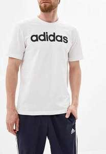 Футболка Adidas E LIN TEE Белая, размеры S-XL