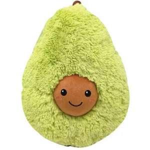 Мягкая игрушка авокадо, 30 см.