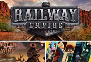 [PC] Railway Empire, Where the Water Tastes Like Wine и все эпизоды 3 out of 10 бесплатно
