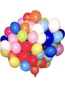 Воздушные шары 100шт 30см от Мосшар