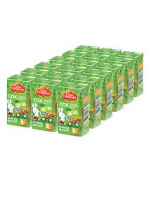 Сады Придонья сок яблочный из зеленых яблок осветленный восстановленный LEAF 0,125л (18шт)