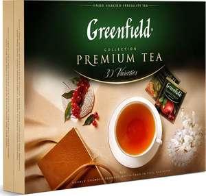 Чай ассорти Greenfield Premium tea Collection в пакетиках 2 г х 120 шт