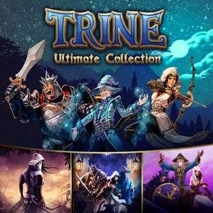 Подборка игр со скидками в eShop, например, Trine: Ultimate Collection