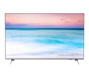 """Телевизор Philips 50PUS6654 50"""" (2019) серебристый металлик"""