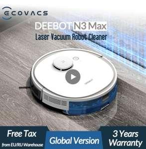 Моющий робот-пылесос ECOVACS Deebot N3 Max