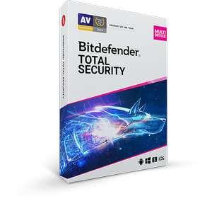 Bitdefender Total Security - 90 дней на 5 устройств бесплатно