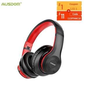 наушники Ausdom ANC10 с активным шумоподавлением
