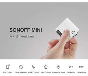 Переключатель Sonoff mini DIY
