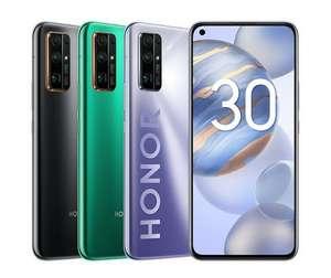 Смартфон Honor 30 8/128Gb (цена в приложении)