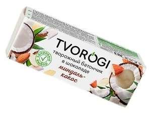 Сырок Tvorogi кокос-миндаль; сухофрукты-злаки, 45 г