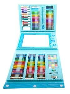 Набор юного художника для рисования 208 предметов с мольбертом в чемоданчике X-tens