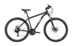 "Велосипед Stinger Graphite Std (2020) горный рам.:18"" кол.:27.5"" черный 17кг (27AHD.GRAPHSTD.18BK0)"