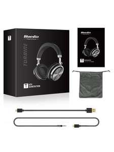 Bluedio T4. Bluetooth-наушники с активным шумоподавлением