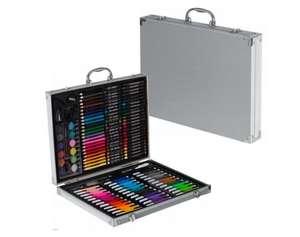 Набор для рисования 150 предметов в кейсе с замочками
