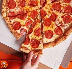 Любая большая пицца (список городов в описании)