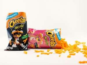 Снеки Crunchy Cheetos sweet chili/ham and cheese