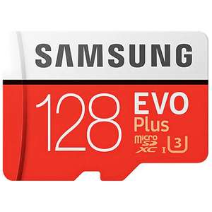 Micro SD Samsung EVO Plus 128 Гб за $19.50
