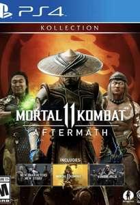 [PS4] Игра Mortal Kombat 11 Aftermath Kollection