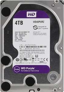 4 ТБ Внутренний жесткий диск WD Purple (и другие объемы)