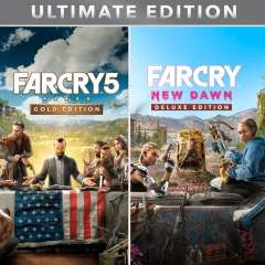Far Cry® 5 Gold edition + Far Cry® New Dawn Ultimate Edition ( PS4 )