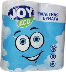 """Туалетная бумага со скидкой в """"Ситилинке"""" (например, бумага туалетная JOY eco, 2-х слойная, 4шт )"""