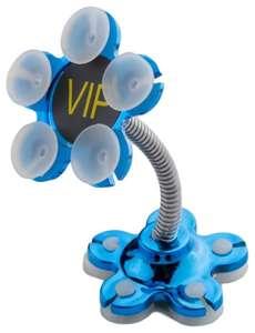 Держатель для телефона на присосках (синий)