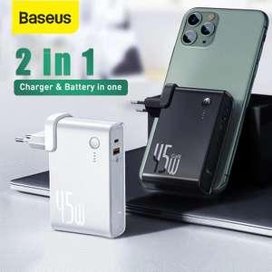 Зарядное устройство + повербанк Baseus 45W