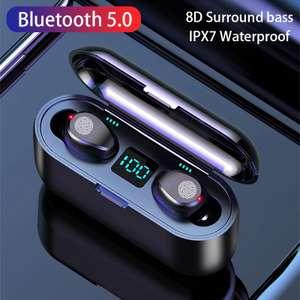 Беспроводные Bluetooth наушники V5.0 HD стерео