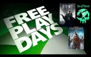 [Xbox Gold] Бесплатные выходные в Sea of Thieves, Hunt: Showdown, Warhammer: Chaosbane
