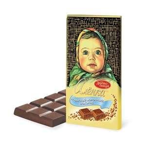 [Мск] Шоколад пористый Алёнка, 95г, в магазине Магнолия