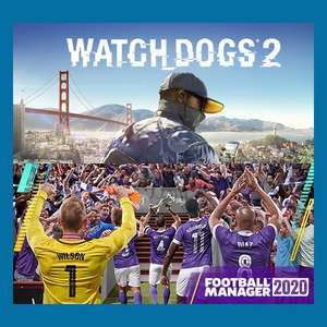 [PC] Watch Dogs 2 и Football Manager 2020 бесплатно до 24 сентября