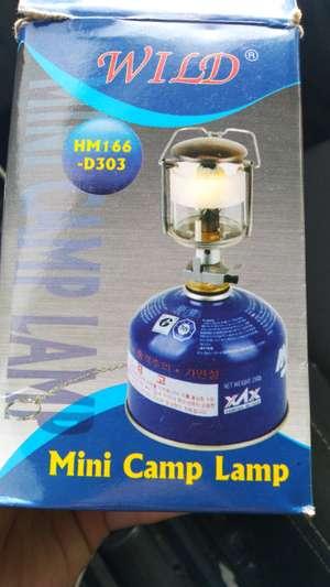 Горелка и газовая лампа в магазинах ОК.