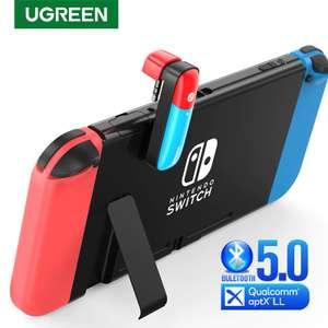 Ugreen Transmitter 3.5 мм Bluetooth 5.0 CM324 для Nintendo Switch